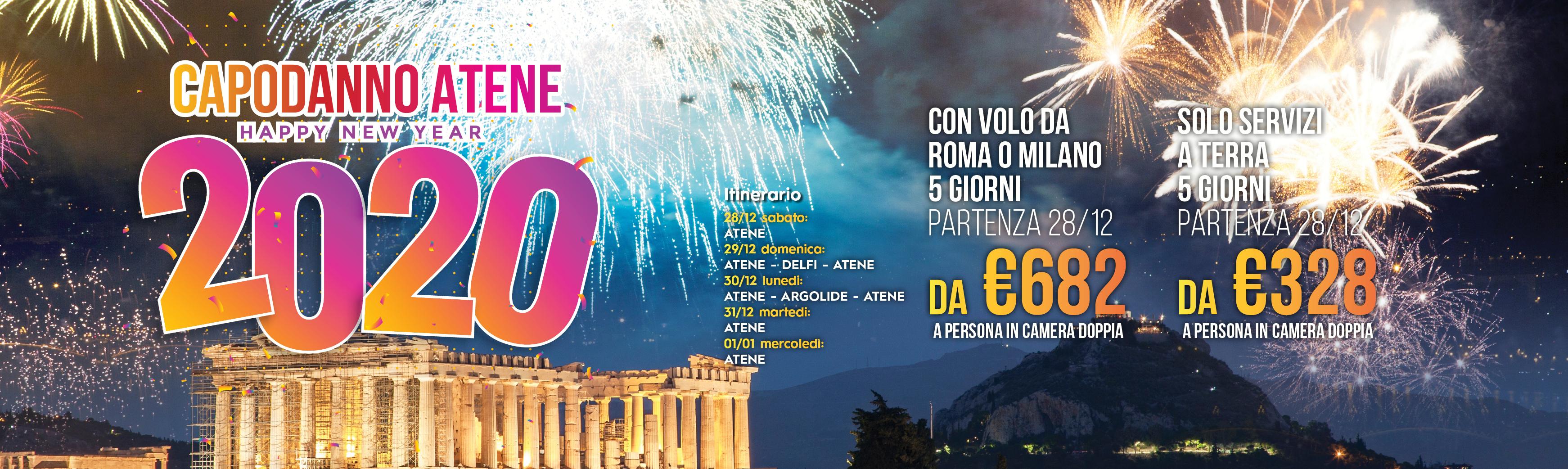 Capodanno 2020 Atene